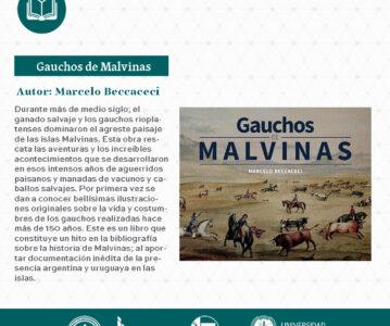 """Gauchos de Malvinas"", de Marcelo Beccaceci."