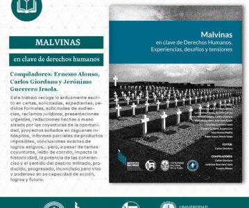 """""""Malvinas en clave de derechos humanos: Experiencias, desafíos y tensiones""""."""